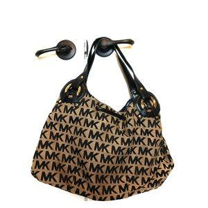 Michael Kors Bags - Michael Kors Black and Gray Bag
